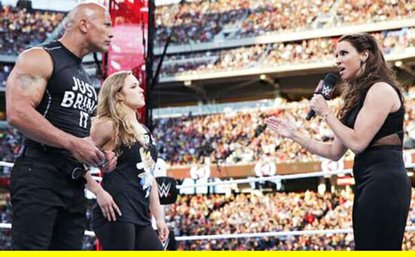Rousey rock stephaine